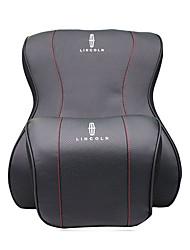 Automotive Headrest & Waist Cushion Kits For Lincoln All years All Models Car Waist Cushions Leather