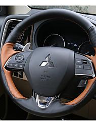 Automobile Protège Volant(Cuir)Pour Mitsubishi Motors 2016 2017 Outlander