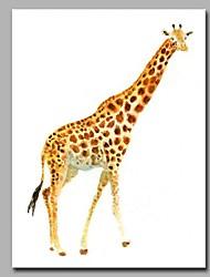 Недорогие -декоративный декор ручной работы с изображением жирафа ручной работы современных картин современного искусства