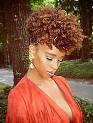 Trecce Crochet pre-ciclo Trecce di capelli Riccio stile Toni 100% capelli kanekalon Capelli 100% Kanekalon Borgogna Nero / Strawberry
