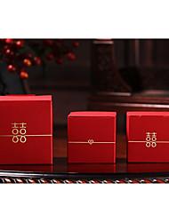 Недорогие -Креатив Кубик Картон Фавор держатель с Узор Коробочки Подарочные коробки - 20