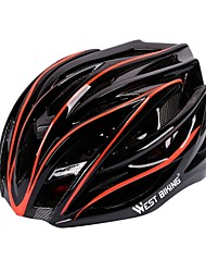 cheap -West biking Helmet Bike Helmet CE Cycling 27 Vents Durable Light Weight EPS PC Cycling Bike