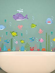 Animali Cartoni animati Romanticismo Adesivi murali Adesivi aereo da parete Adesivi decorativi da parete Materiale Decorazioni per la casa