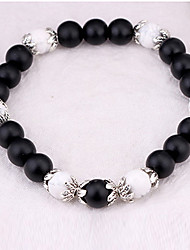 cheap -Women's Strand Bracelet Fashion Imitation Pearl Round Jewelry Casual