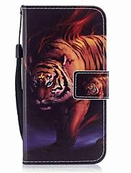 Coque Pour Samsung Galaxy J7 (2017) J3 (2017) Portefeuille Porte Carte Clapet Motif Magnétique Coque Intégrale Animal Dur Cuir PU pour J7