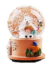 cheap -Balls Music Box Light Up Toys Toys Round Cartoon Toughened Glass 1 Pieces Not Specified Birthday Valentine's Day Gift