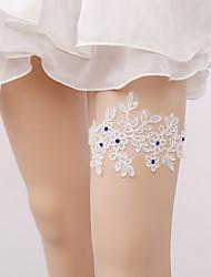economico -giarrettiera da sposa in pizzo con accessori da sposa in pizzo stile elegante elegante