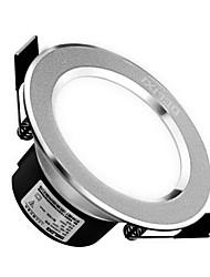 1pc 5w levou downlight celing luz quente branco / branco ac220v 3000 / 6000k tamanho furo 90mm ângulo do feixe 120 300lm