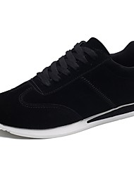 cheap -Women's Shoes PU(Polyurethane) Spring / Summer Comfort Sneakers Low Heel White / Black / Gray
