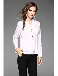 cheap -Women's Daily Plus Size Casual Fall Blouse