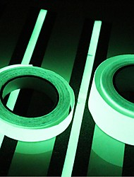 cheap -400*2CM  Glow in Dark Luminous Light Tape Green Fluorescence Sticker Night Luminous Tape Strip Decal Decoration for Stair Door Motorcycle Car Luminous