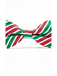 cheap -Men's Polyester Bow Tie - Striped