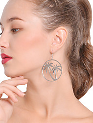 cheap -Women's Drop Earrings / Hoop Earrings - Tree of Life Bohemian, Boho, Oversized Gold / Silver For Party / Daily
