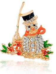 cheap -Girls' / Boys' Others Synthetic Diamond Brooches - Elegant / Christmas Assorted Color Brooch For Christmas / Other