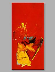 Pintados à mão Abstrato Vertical,Artistíco 1 Painel Tela Pintura a Óleo For Decoração para casa