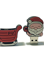 16GB Christmas USB Flash Drive Cartoon Creative Santa Claus Christmas Gift USB 2.0