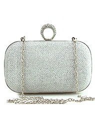 cheap -Women's Bags Special Material Evening Bag Crystal Detailing for Wedding Event/Party Formal All Seasons Gold Black Silver