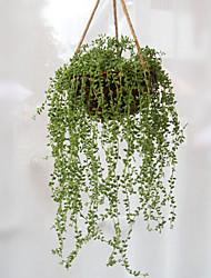 1 Afdeling Plastik Planter Bordblomst Kunstige blomster