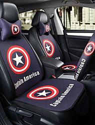 capitaine america siège auto coussin siège siège quatre saisons général entouré par un repose-tête cinq places avec 2 roues