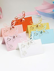 cheap -Material Card Paper Table Center Pieces - Personalized Placecard Holders Others Tables 40 All Seasons