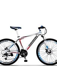 Bicicleta De Montanha Ciclismo 27 velocidade 26 polegadas/700CC Microshift TS70-9 Freio a Disco Suspensão Garfo Anti-Escorregar Aluminum