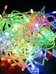 cheap -Lights 30m/200leds Led String 220V for Holiday/Party/Wedding/New Year Home Decoration Free Shipping EU
