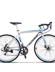 Cruiser Bike Cycling 16 Speed 26 Inch/700CC SHIMANO TX30 Disc Brake Non-Damping Steel Frame Carbon Anti-slip Aluminum Alloy Carbon Steel