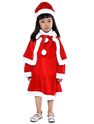 Santa Suits Outfits Kid Halloween Christmas Festival/Holiday Halloween Costumes Patchwork