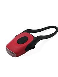 Недорогие -Светодиодная лампа Велосипедные фары Велосипедные фары Велоспорт Противо-туманное покрытие Портативные Ночное видение элемент питания Батарея Холодный белый Красный Велосипедный спорт / АБС-пластик