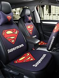 sedile del sedile dell'automobile superman sedile di copertura sedile quattro stagioni generali circondato da un poggiatesta a cinque