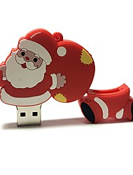 cheap -4GB Christmas USB Flash Drive Cartoon Creative Santa Claus Christmas Gift USB 2.0