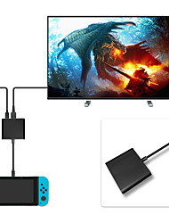 cheap -USB Type-C to HDMI Adapter for Nintendo Switch /Samsung Galaxy S8/MacBook - Black