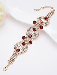 cheap -Women's Bangles Crystal Rhinestone Geometric Bling Bling Crystal Alloy Circle Rectangle Jewelry For Date Street