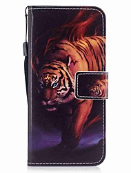 Недорогие -Кейс для Назначение SSamsung Galaxy S8 Plus S8 Бумажник для карт Кошелек Флип Магнитный С узором Чехол Животное Твердый Кожа PU для S8