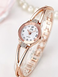 cheap -Women's Quartz Wrist Watch Chinese Chronograph / Water Resistant / Water Proof / Creative Stainless Steel Band Charm / Sparkle / Casual /