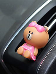 Car Air Outlet Grille Perfume Cartoon characters  Modeling  Automotive Air Purifier
