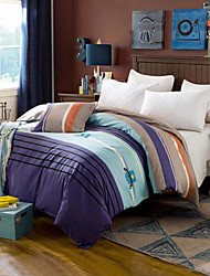 Stripe Comforter Material 1pc Duvet Cover