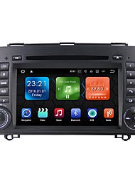 baratos -android 7.1.2 carro dvd player sistema multimídia 7 polegadas quad core wifi ex-3g dab para mercedes benz a / b classe b200 2004-2011
