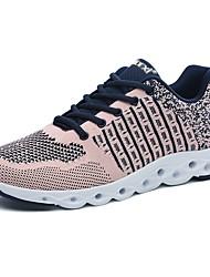 Homme Chaussures Tulle Tissu Polyuréthane Printemps Automne Confort Chaussures d'Athlétisme Course à Pied Lacet Pour Athlétique