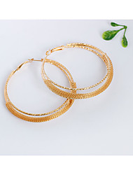 Women's Hoop Earrings Earrings Set Jewelry Personalized Alloy Round Jewelry For Wedding Party Daily