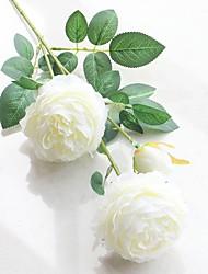 1 шт. 1 Филиал Полиэстер Пионы Букеты на стол Искусственные Цветы
