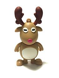 1GB Christmas USB Flash Drive Cartoon Christmas Deer Christmas Gift USB 2.0