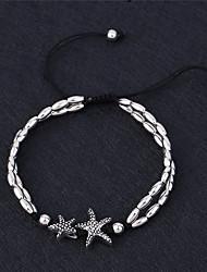 Недорогие -Ножной браслет - Животный принт Винтаж, Простой стиль Белый / Черный Назначение Подарок / Повседневные / На выход / Жен.