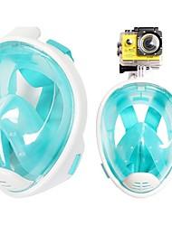 Недорогие -Дайвинг Пакеты Маска для снорклинга Для профессионалов Противо-туманное покрытие Водонепроницаемый Высокое качество-Детские Подводное
