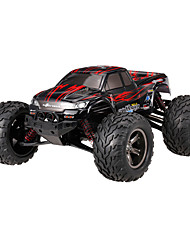 Carro com CR 9115 2.4G Off Road Car Alta Velocidade 4WD Drift Car Carroça Monster Truck Bigfoot 1:12 Electrico Escovado 40 KM / H