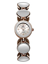 Mulheres Relógio de Moda Único Criativo relógio Simulado Diamante Relógio Chinês Quartzo Lega Banda Preta Branco Vermelho