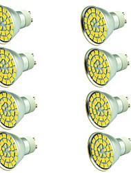 8 pièces 5W Spot LED 55 diodes électroluminescentes SMD 5730 Décorative Blanc Chaud Blanc Froid 800lm 3000-7000K AC 12V