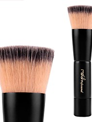1pc Foundation Brush Synthetic Hair Easy Carrying Easy to Carry Wood Face Men and Women Daily Health&Beauty General use