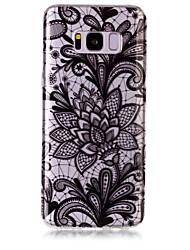 Custodia Per Samsung Galaxy S8 Plus S8 IMD Transparente Fantasia/disegno Custodia posteriore La stampa in pizzo Morbido TPU per S8 S8
