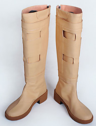 Cosplay Schuhe Cosplay Stiefel Cosplay Cosplay Anime Cosplay Schuhe PU - Leder/Polyurethan Leder Kunstleder PU Leder Unisex Erwachsene